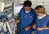 Anesthesiologist, Anesthesiologist Assistant, Anesthesia Assistant, Viewing of Drager Medical monitor